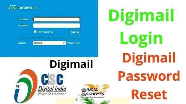 Digimail password