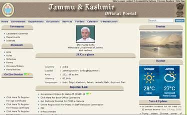 Jammu and Kashmir domicile certificate 2020
