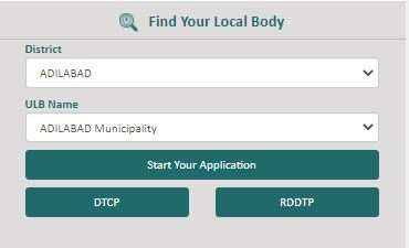 DPMS Telangana Registration