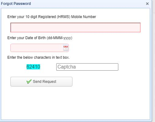 odisha HRMS password