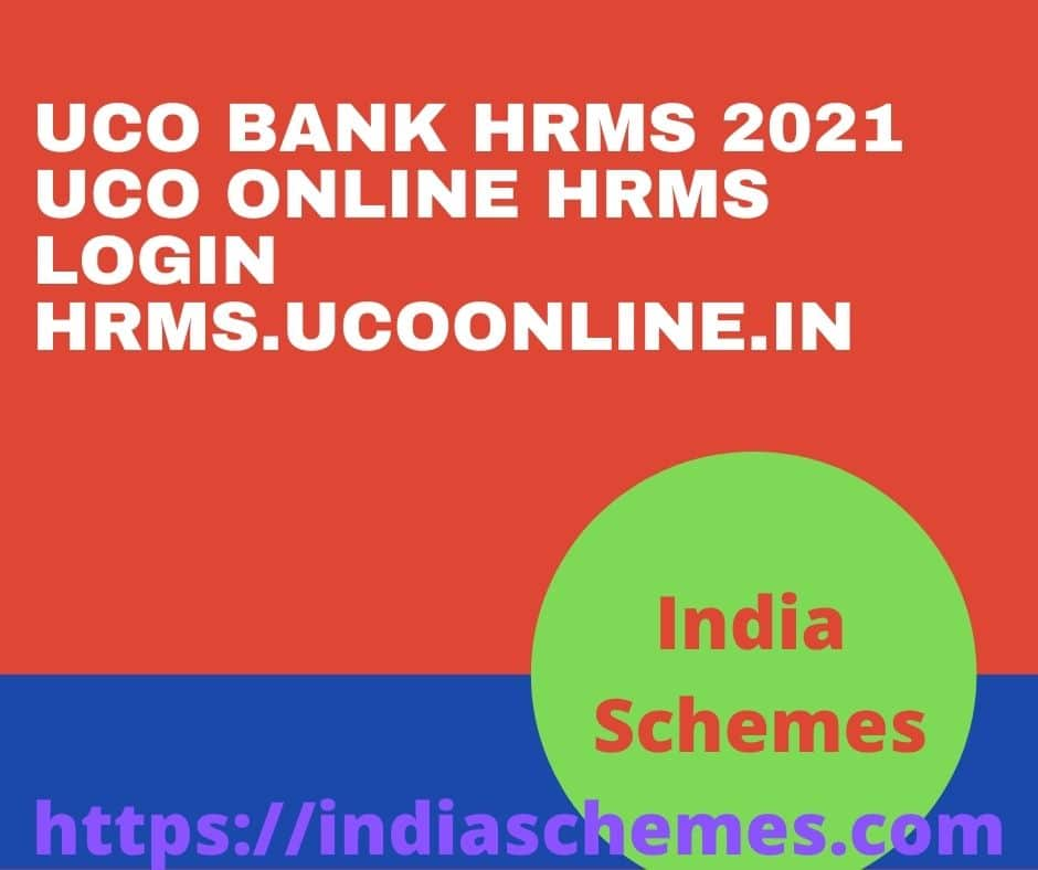 UCO Bank HRMS