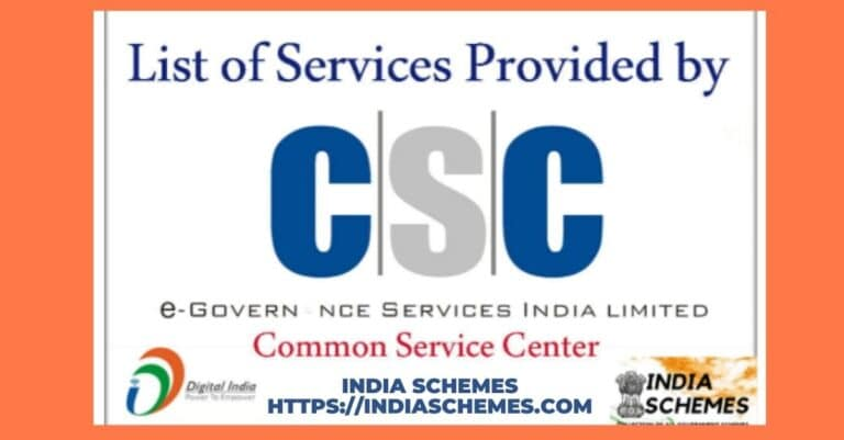 services provided by CSC