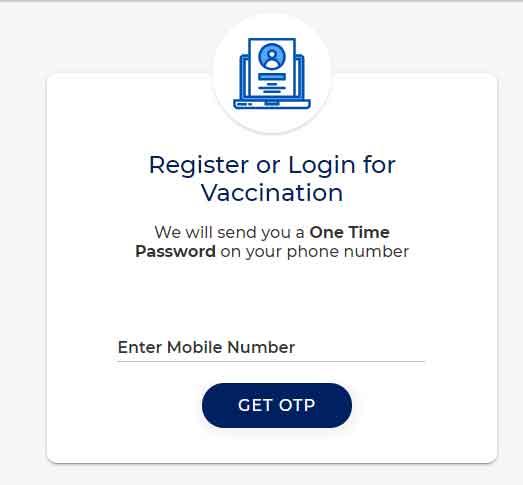 covid Registration Process