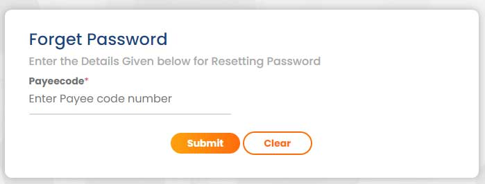 Reset your password at intrahry.gov.in