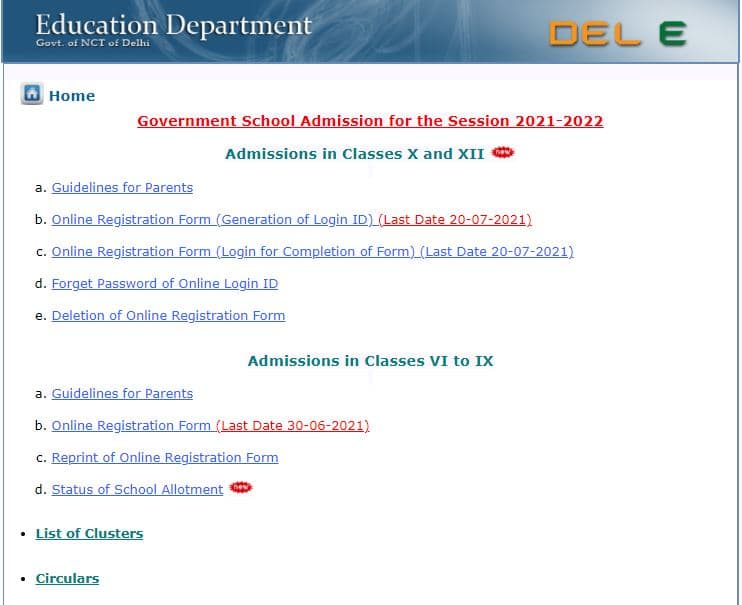Delhi School of Excellence Admission